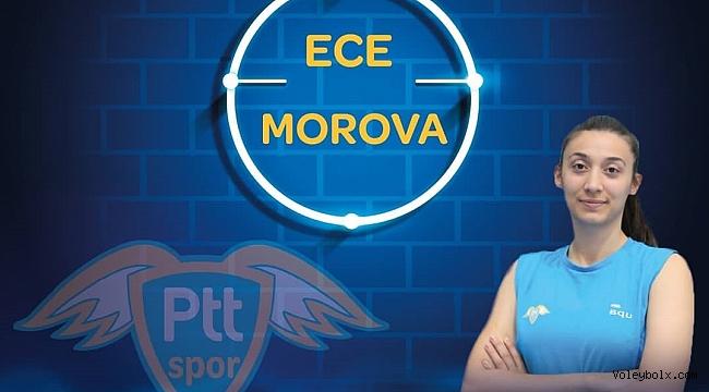 Ece Morova PTT'de...