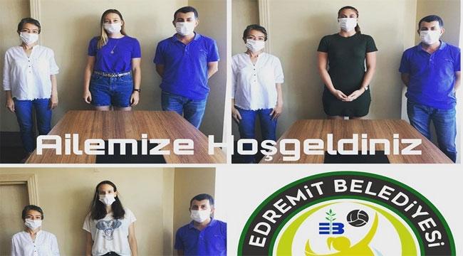 Edremit Belediyesi Altınoluk'tan üç transfer...