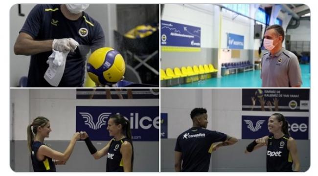 Fenerbahçe Opet'te yeni sezon hazırlıkları başladı...