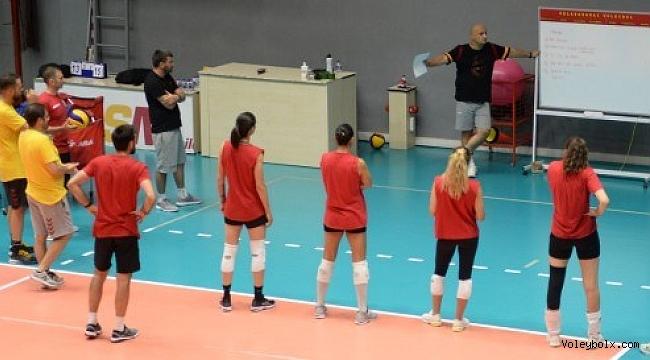 Galatasaray Kadın Takımı yeni sezon çalışmalarına başladı
