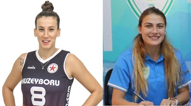 Gizem Nur Saka ve Betül Barış yeni sezonda Adana'da