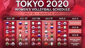 Olimpiyat Oyunları'ndaki Maç Programımız Belli Oldu
