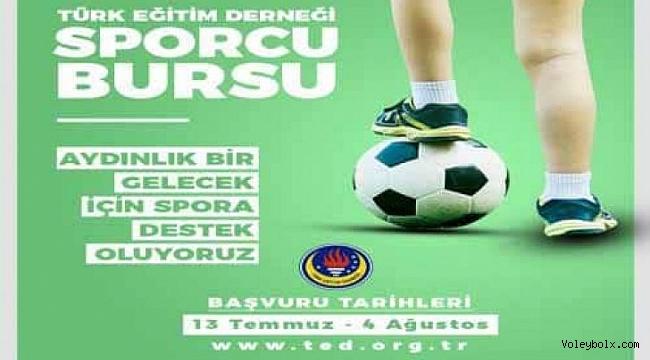Türk Eğitim Derneği Spor Bursu Duyurusu