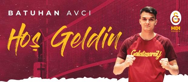 Batuhan Avcı resmen Galatasaray HDI Sigorta'da!