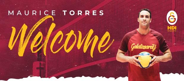 Maurice Torres resmen Galatasaray HDI Sigorta'da!