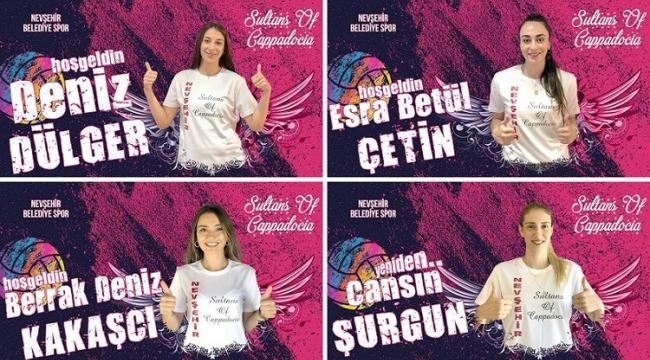 Nevşehir Belediyespor dört oyuncuyla anlaştı!..