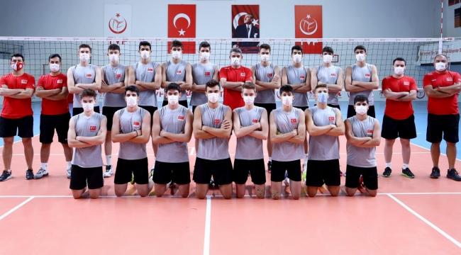 U18 Genç Erkek Milli Takımımız, Avrupa Şampiyonası Hazırlıklarını Sürdürüyor