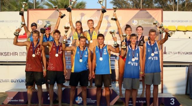 2020 CEV U18 Plaj Voleybolu Avrupa Şampiyonası Sona Erdi