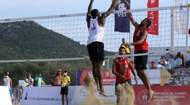 2020 CEV U22 Plaj Voleybolu Avrupa Şampiyonası Başladı