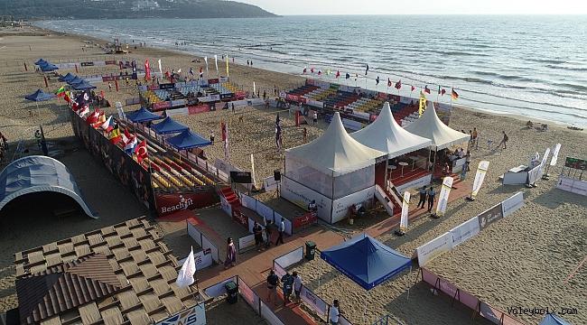 2020 CEV U22 Plaj Voleybolu Avrupa Şampiyonası Başlıyor