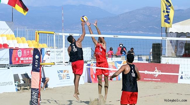 2020 CEV U22 Plaj Voleybolu Avrupa Şampiyonası'nda 2. Gün Sona Erdi