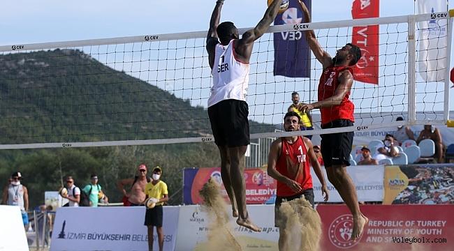 2020 CEV U22 Plaj Voleybolu Avrupa Şampiyonası'nda 3. Gün Sona Erdi