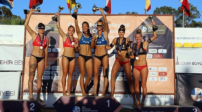 2020 CEV U22 Plaj Voleybolu Avrupa Şampiyonası Sona Erdi