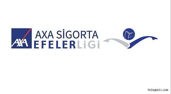 AXA Sigorta Efeler Ligi'nde 3. ve 4. Haftanın Programı Belli Oldu