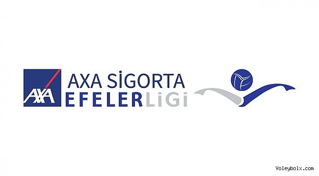 Axa Sigorta Efeler Ligi'nde 7. ve 8. Haftanın Programı Belli Oldu