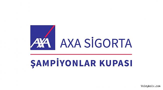 Erkekler AXA Sigorta Şampiyonlar Kupası Yer Değişikliği Duyurusu