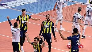 Şampiyonlar Kupası'nda şampiyon Fenerbahçe HDI Sigorta
