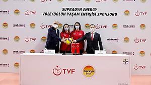 Supradyn Energy, Voleybolun Yaşam Enerjisi Sponsoru Oldu