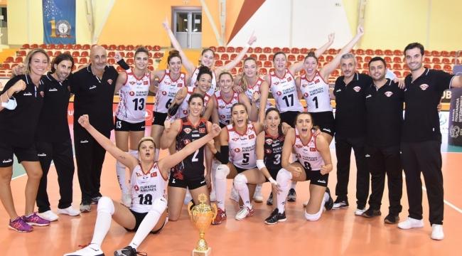 Türk Hava Yolları, 2. Kez Balkan Kupası Şampiyonu