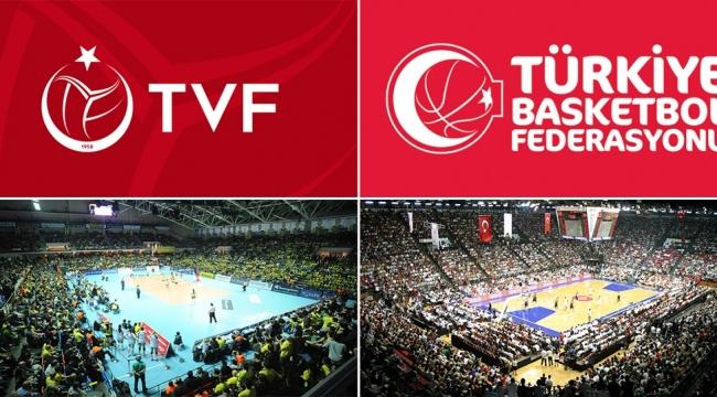Voleybol ile Basketbolun Türkiye Haritası