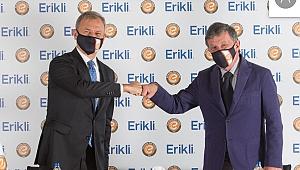 Eczacıbaşı'nda su sponsoru Erikli'yle beşinci sezon
