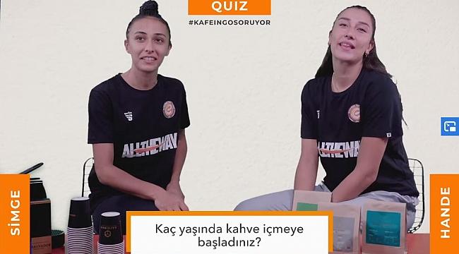 Kafeingo ile Quiz #2 Simge Aköz & Hande Baladın