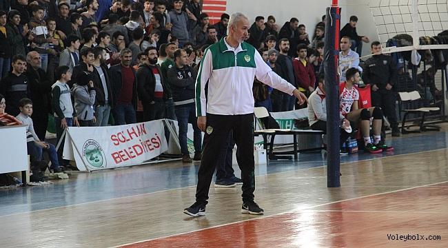 Mehmet Şahin yeniden Solhan Spor'da...