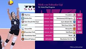 Misli.com Sultanlar Ligi'nde 12. Hafta Başlıyor