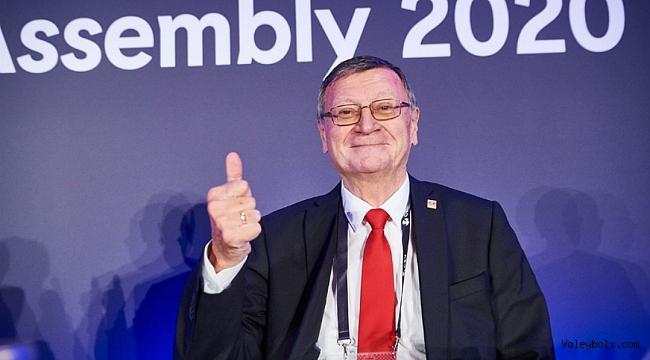 Pevkur'a Türkiye desteği yetmedi, CEV'de Boricic yeniden başkan!..