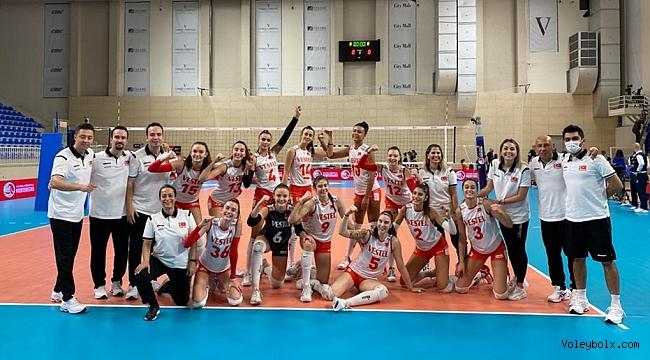U17 Kız Milli Takımımız, Namağlup Yarı Finalde