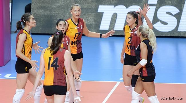Galatasaray HDI Sigorta, CEV Kupası Son 32 Turu'nda Rövanş Maçına Çıkıyor