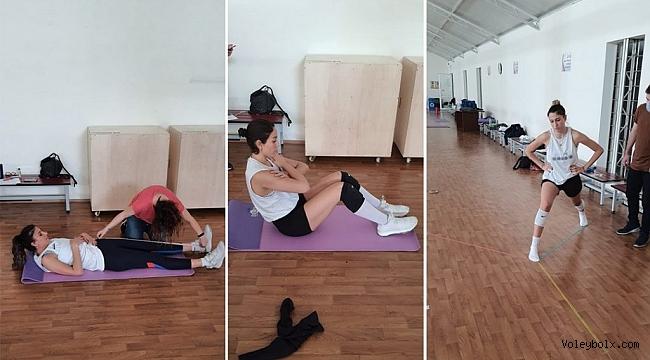 Sigorta Shop Kalecik Belediyesporlular 'Atletik performans testi'nden geçti