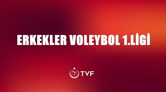 TVF Erkekler Voleybol 1. Ligi'nde 7. Hafta Başlıyor