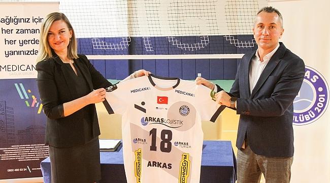 Arkas Spor'a yeni sağlık sponsoru