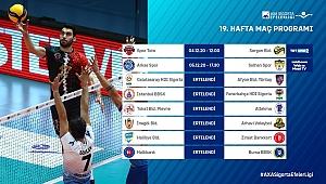 AXA Sigorta Efeler Ligi'nde 19. Hafta Başlıyor
