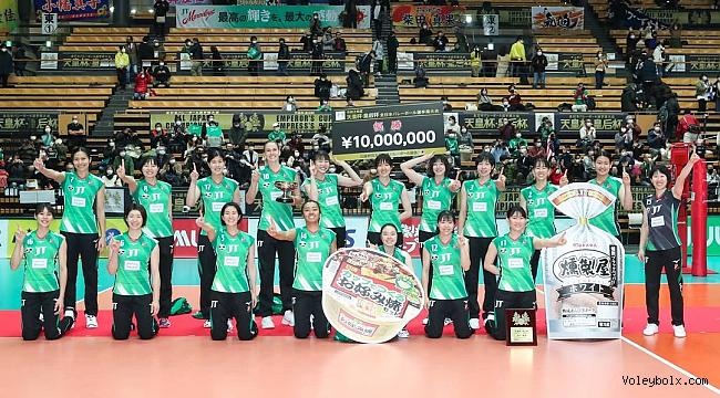 İmparatoriçe Kupası JT Marvelous'un!..