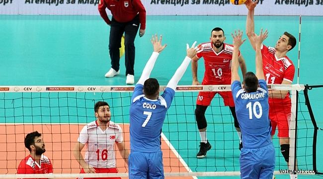 A Milli Erkek Takımımız, Avrupa Şampiyonası Elemeleri'ne Galibiyetle Başladı