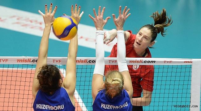 Galatasaray HDI Sigorta ile Kuzeyboru hazırlık maçı yaptı