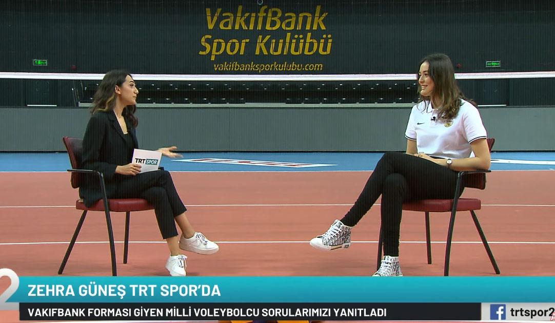Zehra Güneş, TRT SPOR2'nin sorularını yanıtladı