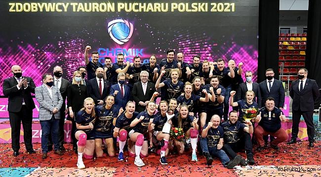 Chemik Police, Polonya Kupası'nın sahibi!..