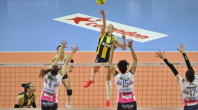 Fenerbahçe Opet, Igor Gorgonzola Novara'ya 3-1 Mağlup Oldu
