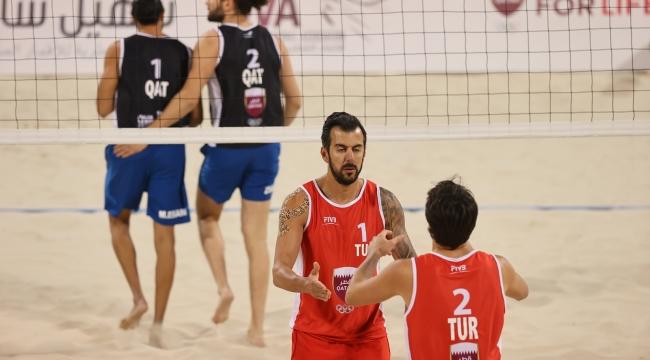 Murat Giginoğlu-Volkan Göğtepe İkilisi, Doha'da Yarı Finalde