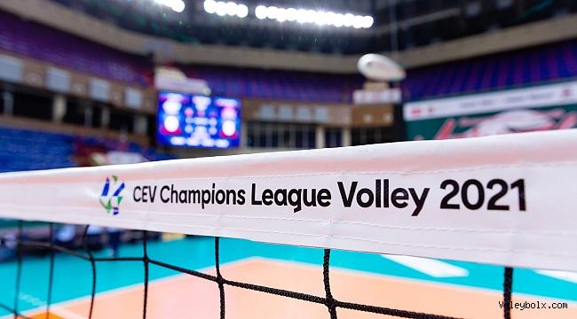 Temsilcilerimizin, CEV Şampiyonlar Ligi Çeyrek Finaldeki Rakipleri Belli Oluyor