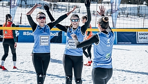 Türkiye Kar Voleybolu Milli Takımımız, Wagrain Etabı'nda Yarı Finalde