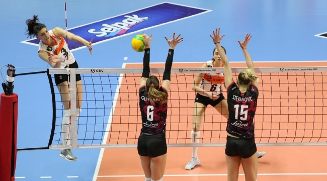 Eczacıbaşı VitrA, 2021 CEV Şampiyonlar Ligi'ne Veda Etti