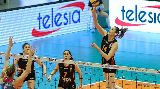 Galatasaray HDI Sigorta, Monza'ya 3-0 Mağlup Oldu