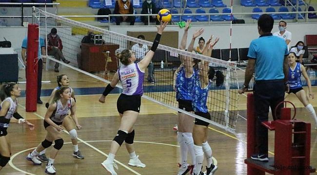 Kadınlar 1. Ligi'nde Erteleme Maçı Oynandı