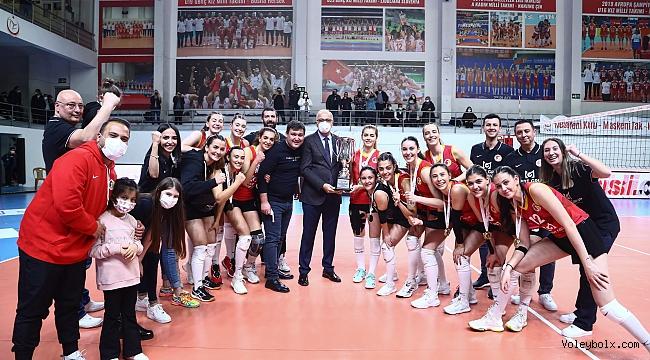 TVF 2. Lig Kadınlar Final Etabı Karşılaşmaları Sona Erdi