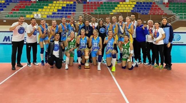 Kazakistan'da şampiyon Altay!...
