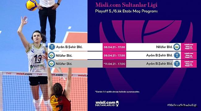 Misli.com Sultanlar Ligi Play-off 5./6.lık Etabı Başlıyor